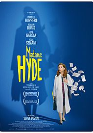 """Movie poster for """"MRS. HYDE"""""""
