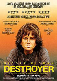 "Filmplakat für ""DESTROYER"""
