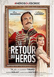 "Movie poster for ""RETURN OF THE HERO"""