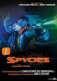 "Movie poster for ""SPYCIES"""