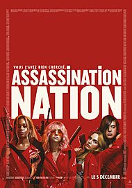 "Movie poster for ""ASSASSINATION NATION"""
