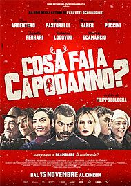 "Movie poster for ""COSA FAI A CAPODANNO ?"""