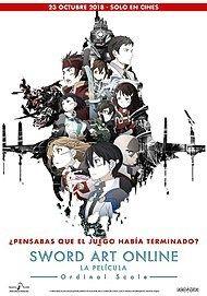 "Movie poster for ""GEKJIO-BAN SWORD ART ONLINE: ORDINAL SCALE"""