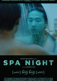"Movie poster for ""SPA NIGHT"""
