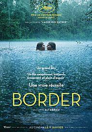 "Movie poster for ""BORDER"""