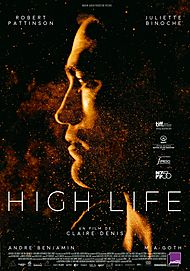 """Movie poster for """"HIGH LIFE"""""""