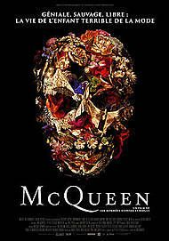 """Movie poster for """"McQueen"""""""