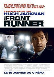 """Movie poster for """"THE FRONT RUNNER"""""""