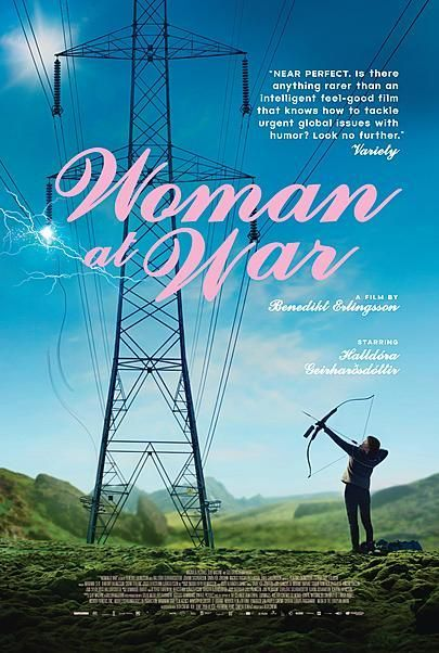 """Movie poster for """"WOMAN AT WAR"""""""