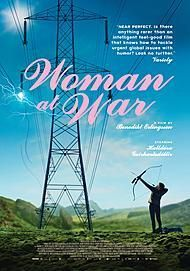 "Movie poster for ""WOMAN AT WAR"""