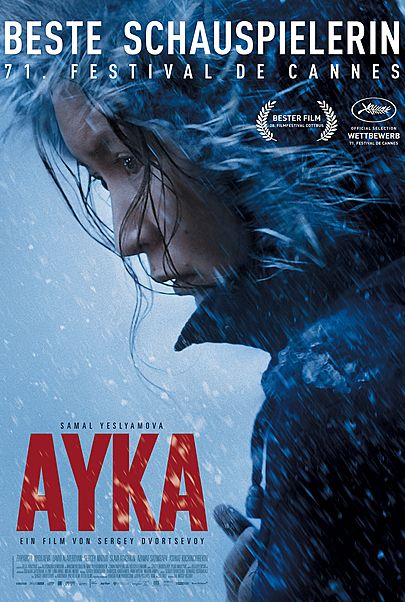 """Movie poster for """"AYKA"""""""