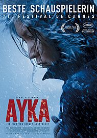 "Movie poster for ""AYKA"""