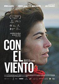 """Movie poster for """"CON EL VIENTO"""""""