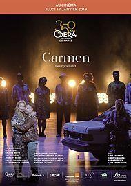 """Movie poster for """"CARMEN (OPERA DE PARIS-FRA CINEMA)"""""""