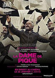 """Affiche du film """"LA DAME DE PIQUE (ROYAL OPERA HOUSE)"""""""