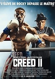 """Movie poster for """"CREED II"""""""