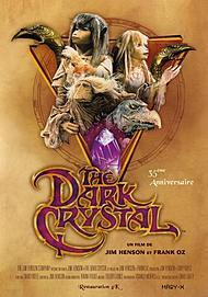 """Movie poster for """"THE DARK CRYSTAL"""""""