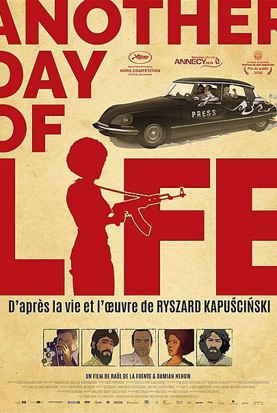 """Movie poster for """"ANOTHER DAY OF LIFE"""""""
