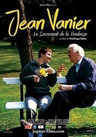 """Movie poster for """"JEAN VANIER, LE SACREMENT DE LA TENDRESSE"""""""