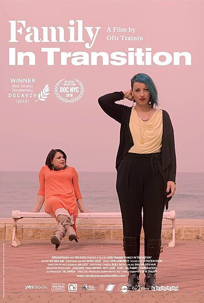 """Movie poster for """"FAMILY IN TRANSITION"""""""