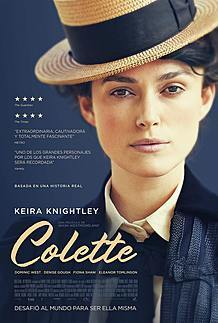 "Movie poster for ""COLETTE"""