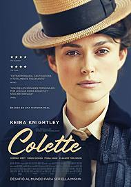 """Movie poster for """"COLETTE"""""""