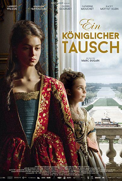 """Filmplakat für """"Ein königlicher Tausch - Filmstart in Deutschland"""""""