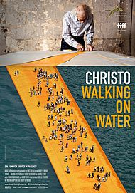 "Movie poster for ""WALKING ON WATER"""