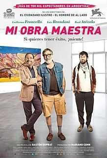 "Movie poster for ""MI OBRA MAESTRA"""