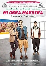 "Movie poster for ""MI OBRA MAESTRA"""
