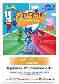 """Movie poster for """"LES ZOUZOUS FONT LEUR CINEMA"""""""