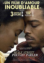 """Affiche du film """"SI BEALE STREET POUVAIT PARLER"""""""