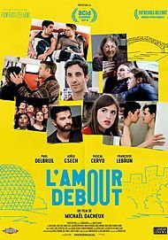 "Movie poster for ""L'AMOUR DEBOUT"""