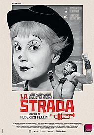 """Movie poster for """"LA STRADA"""""""