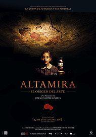 "Movie poster for ""ALTAMIRA. EL ORIGEN DEL ARTE"""