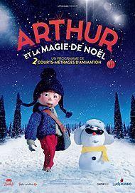 """Affiche du film """"ARTHUR ET LA MAGIE DE NOEL"""""""