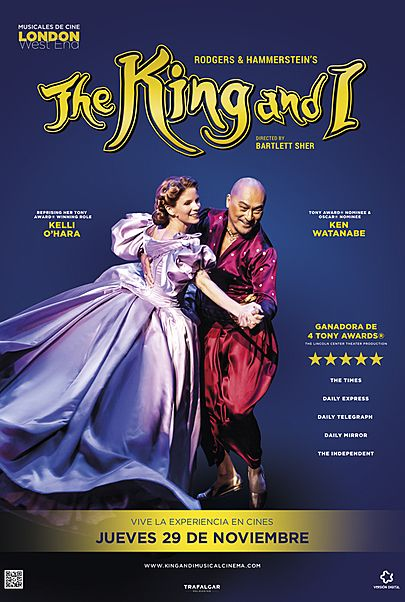 kvalitetsdesign speical-erbjudande nya utgåvan EclairPlay - Spain - Movie: THE KING AND I: FROM THE LONDON PALLADIUM
