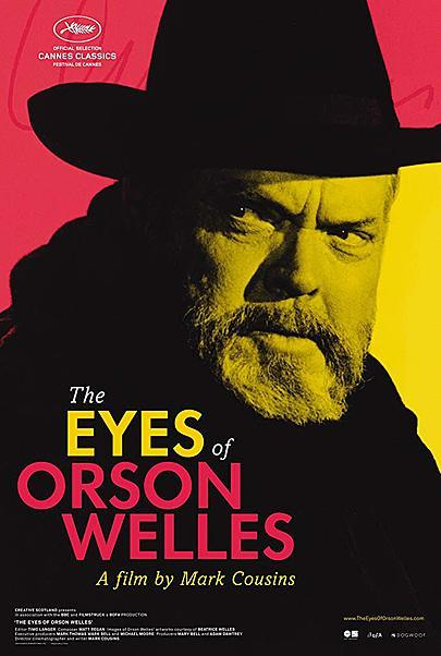 "Movie poster for ""THE EYES OF ORSON WELLES"""