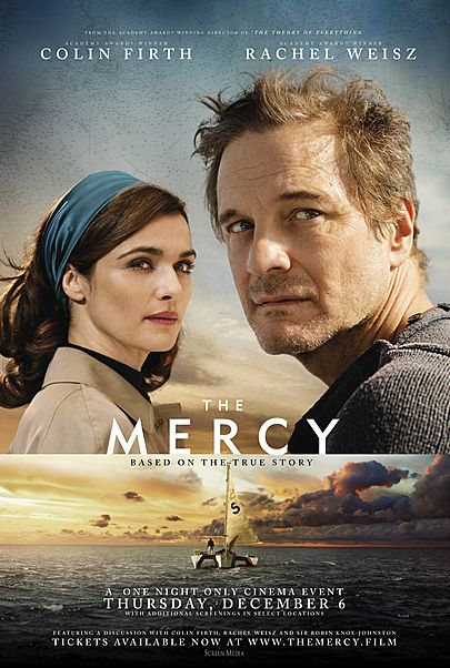 """Movie poster for """"THE MERCY"""""""