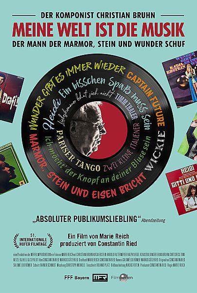 """Movie poster for """"Meine Welt ist die Musik - Der Komponist Christian Bruhn"""""""