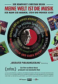 """Filmplakat für """"Meine Welt ist die Musik - Der Komponist Christian Bruhn"""""""