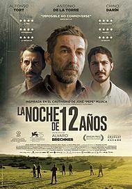 """Movie poster for """"LA NOCHE DE LOS 12 AÑOS"""""""