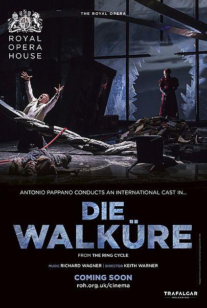 """Movie poster for """"DIE WALKÜRE (ROYAL OPERA HOUSE)"""""""
