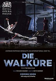 "Movie poster for ""DIE WALKÜRE (ROYAL OPERA HOUSE)"""