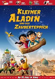 """Filmplakat für """"Kleiner Aladin und der Zauberteppich"""""""