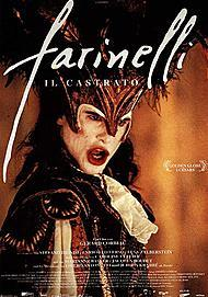 """Movie poster for """"FARINELLI"""""""
