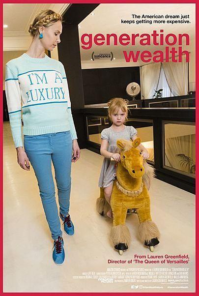 """Filmplakat für """"Generation Wealth"""""""