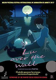 "Movie poster for ""LU OVER THE WALL"""