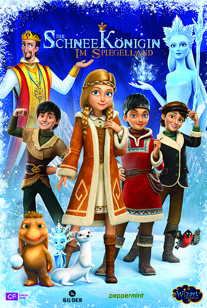 """Movie poster for """"The Snow Queen: Mirror Lands"""""""