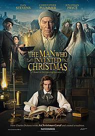 """Movie poster for """"THE MAN WHO INVENTED CHRISTMAS"""""""